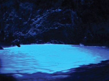 Blue Cave on Biševo