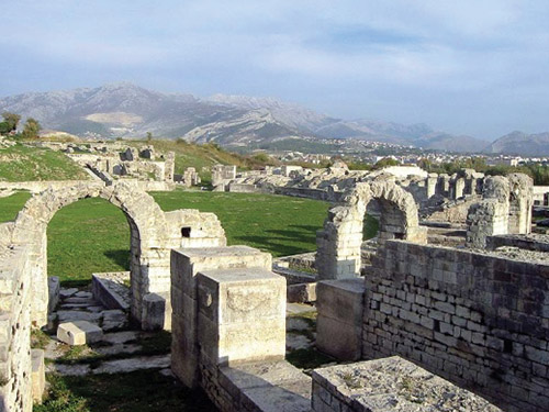 Ancient Salona Ruins in Solin